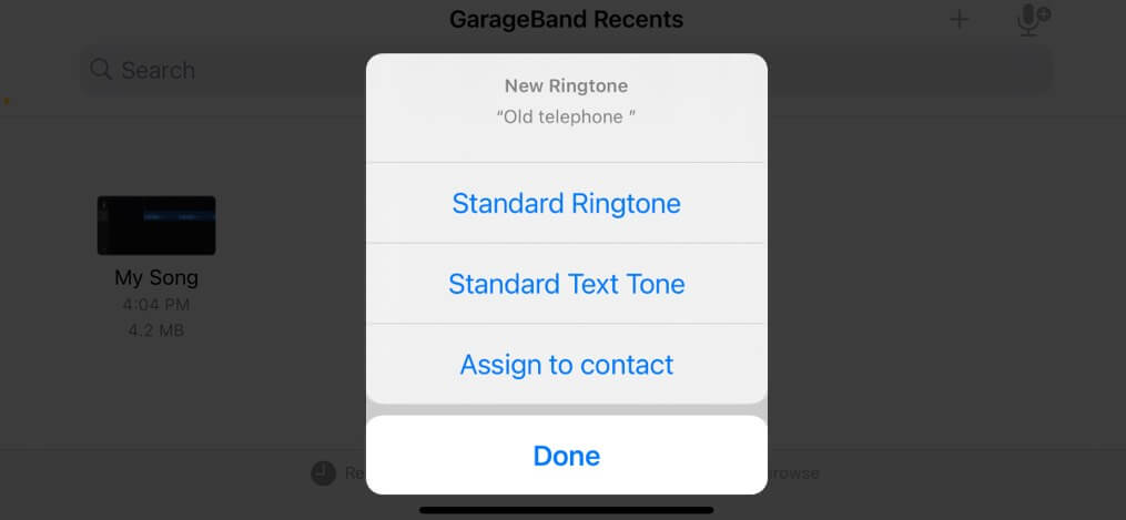 Create custom ringtone on iPhone without computer
