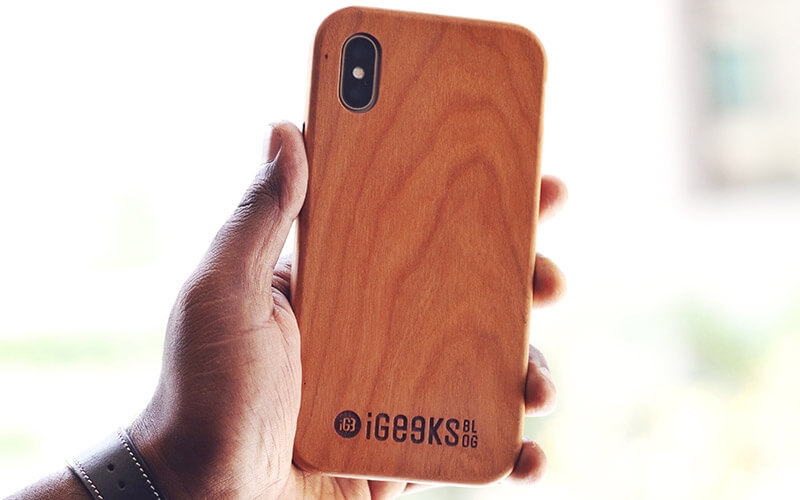 Custom Wooden Case for iPhone X, Xs, Xs Max, and iPhone XR
