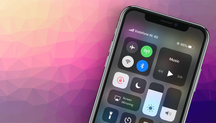 Customize iPhone Control Center
