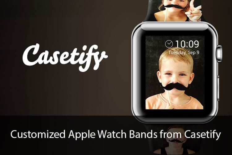 Customized Apple Watch Bands from Casetify