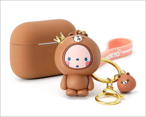 Cute Animal Keychain AirPods Pro Case from ESR