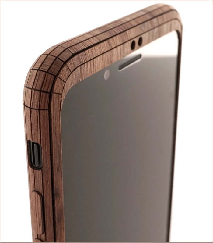Cutouts of Toast Wooden iPhone Wooden Case