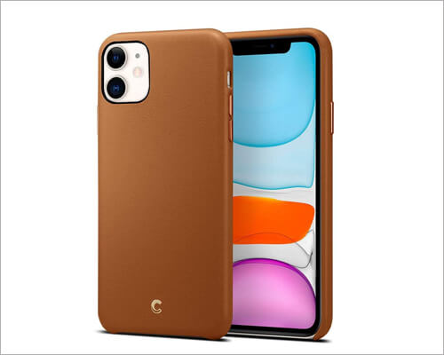 Cyrill Saddle Brown Executive Case for iPhone 11