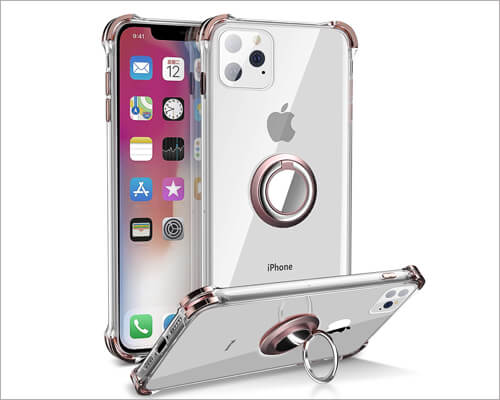 DAUPIN Ring Grip Case for iPhone 11 Pro Max