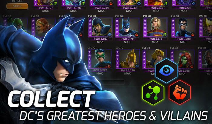 DC Legends iPhone and iPad Game Screenshot