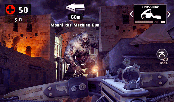 DEAD TRIGGER 2 FPS iPhone and iPad Game Screenshot