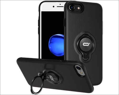 DESOF Ring Holder Cover for iPhone 7