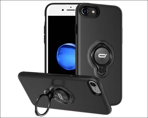 DESOF iPhone 8 Ring Holder Case