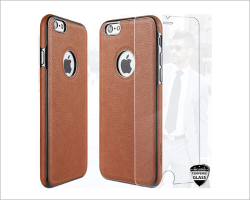 DICHEER Leather Case for iPhone 6 6s