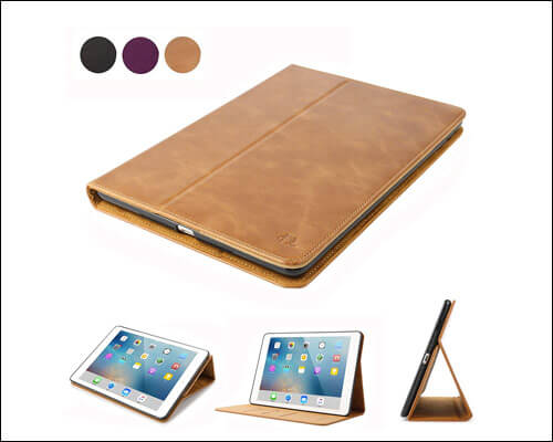 DINGRICH 2018 iPad 9.7-inch Leather Case