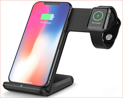 DINTO iPhone Xs Max, Xs, and iPhone XR Wireless Docking Station
