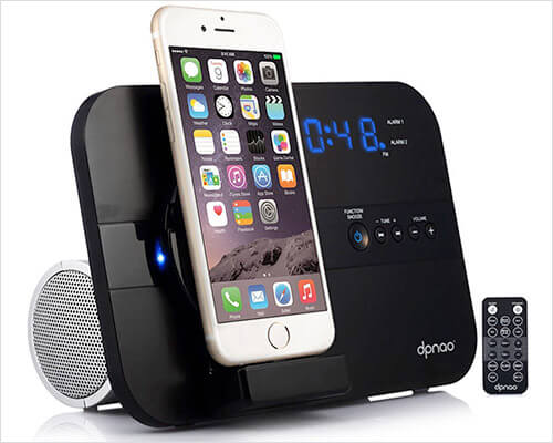 DPNAO Docking Station With Speaker for iPhone 6-6s Plus