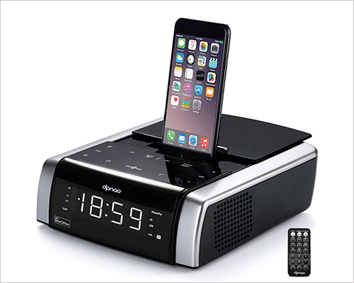 DPNAO iPhone Xs, Xs Max, and iPhone XR Docking Station with Speakers