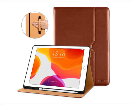 DTTO 10.2 inch iPad Leather Case