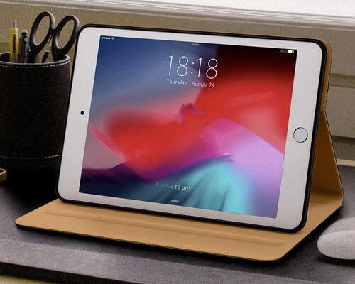 DTTO Leather Folio Case for iPad Mini 5
