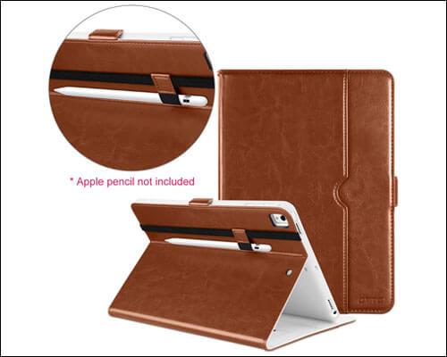 DTTO iPad 9.7-inch 2018 Leather Case