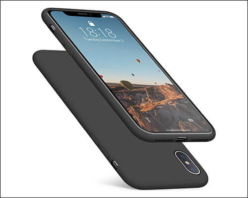 DTTO iPhone Xs Max Wireless Charging Support Case