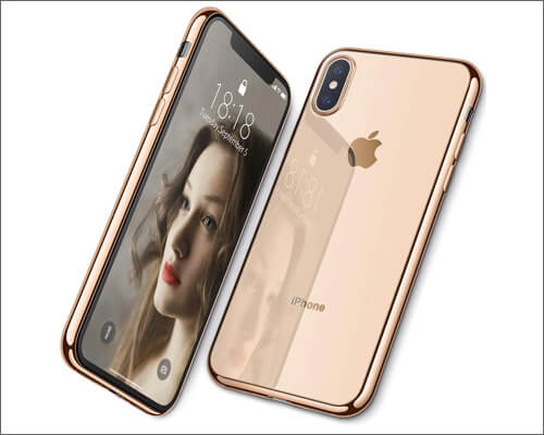 DTTO iPhone Xs Wireless Charging Compatible Case