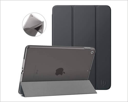 Dadanism Translucent Frosted Back Case for iPad 10.2 inch