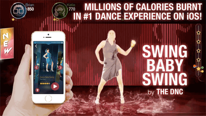 Dance Party Game iPhone and iPad Screenshot