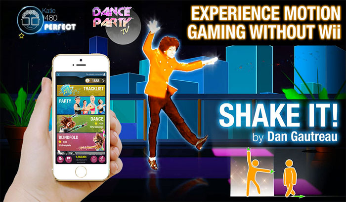 Dance Party iPhone and iPad Game Screenshot