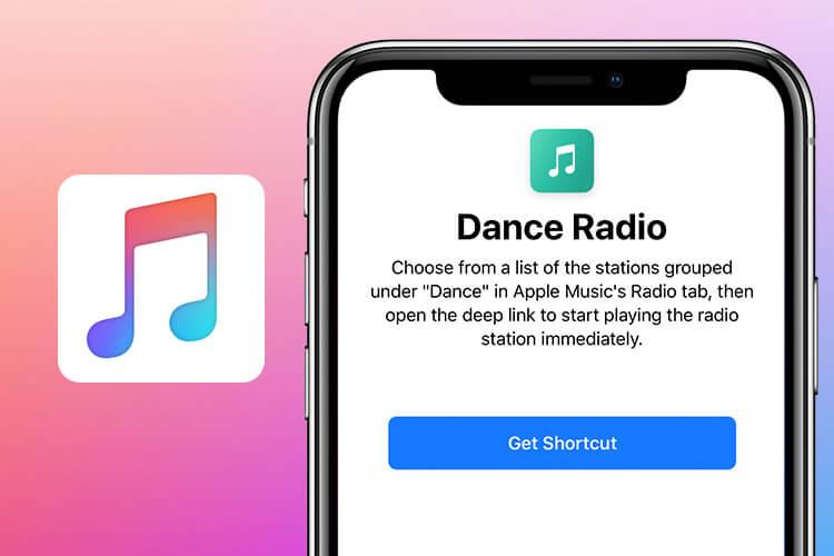 Dance Radio Siri Shortcut