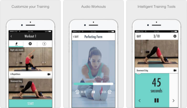 Dance Strength Training Dance Learning iPhone App Screenshot