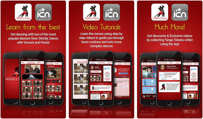 Dance with Vincent & Flavia iPhone App Screenshot