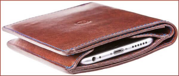 Danny P Leather Wallet Case for iPhone 6