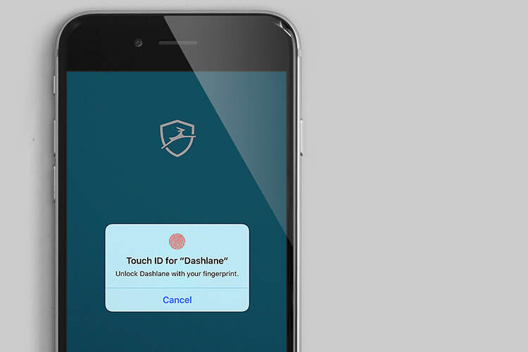 Dashlane App Support Touch ID and Face ID