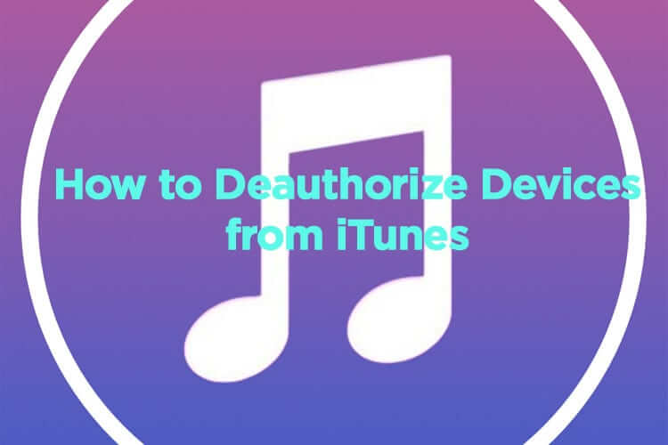 De-Authorize iPhone or iPad from iTunes Account
