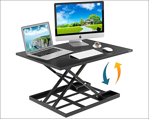 Defy Desk Standing Desk for MacBook, iMac, and Windows PC