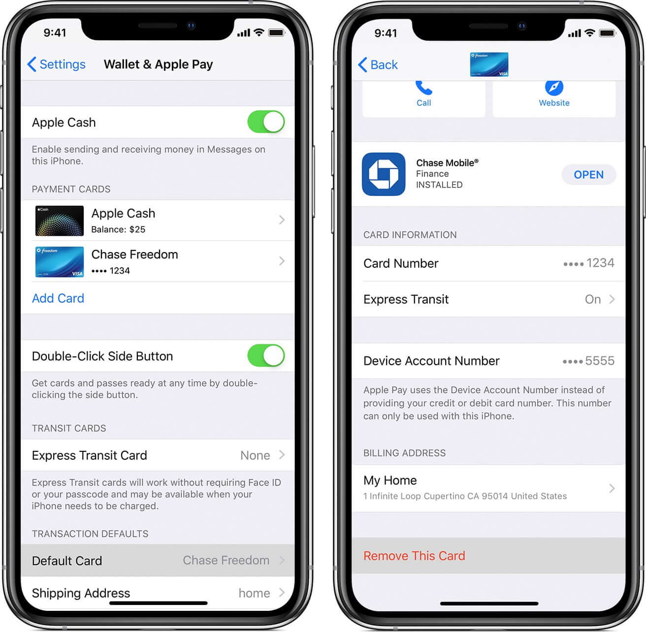 Delete Credit Card from Apple Pay on iPhone