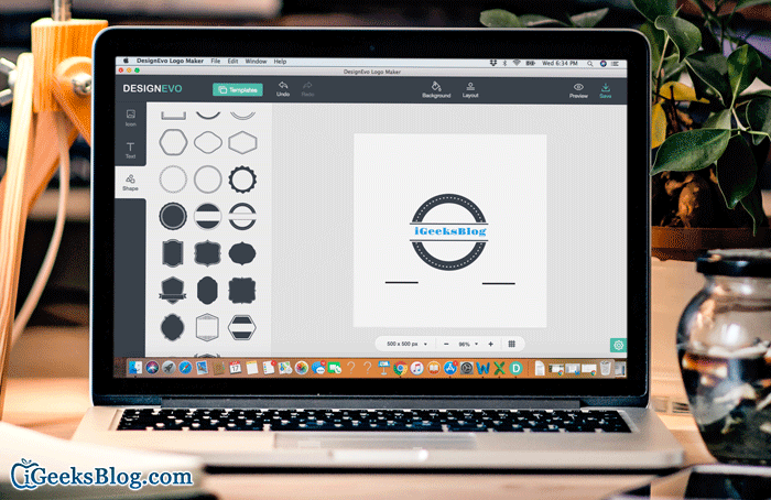 DesignEvo Logo Making App for Mac