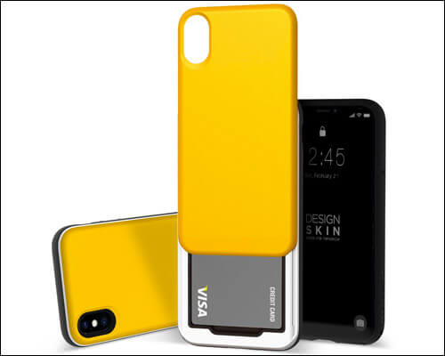 DesignSkin iPhone X Xs Card Holder Case