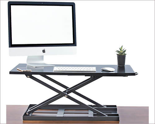 Deskool Standing Desk for iMac, MacBook, and Windows PC
