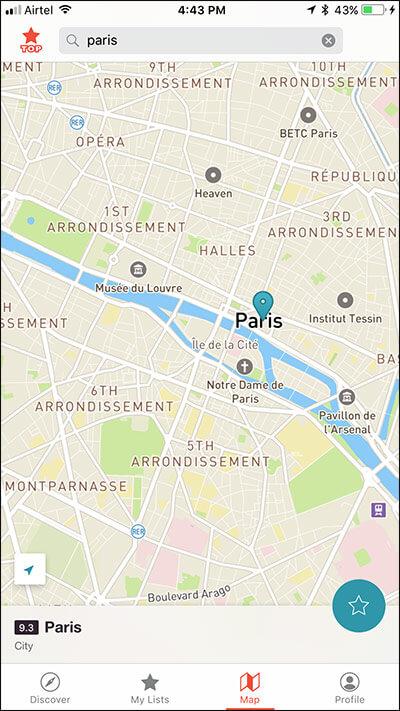 Detailed Maps in CityMaps2Go iPhone App
