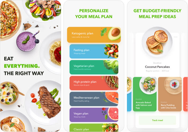 Diet by GetFit iPhone and iPad App Screenshot