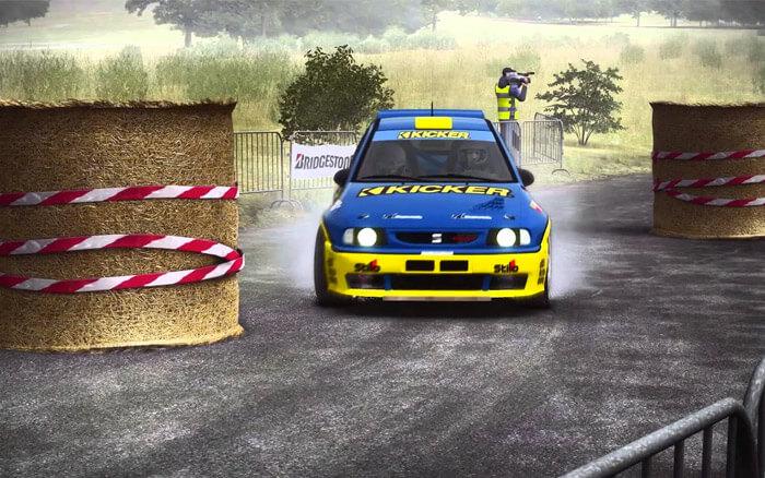Dirt Rally Racing Mac Game Screenshot