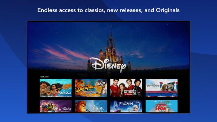 DisneyPlus Apple TV App Screenshot