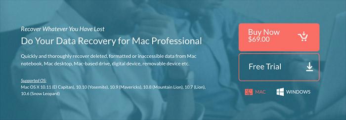 DoYourData Mac Data Recovery Software