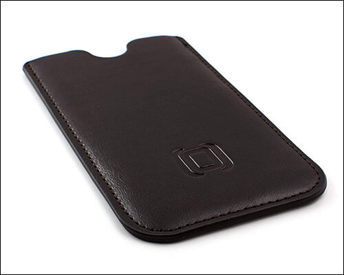 Dockem Leather Sleeve for iPhone Xs
