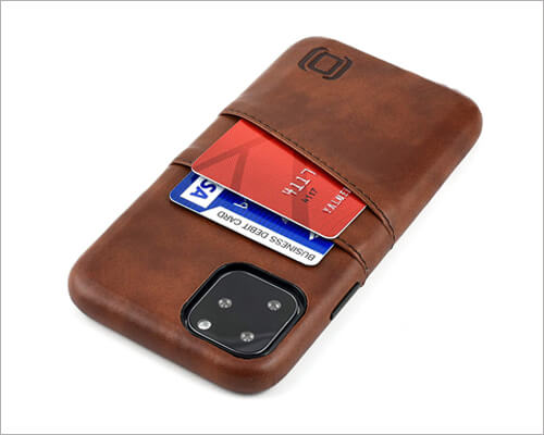 Dockem Leather Wallet Executive Case for iPhone 11 Pro
