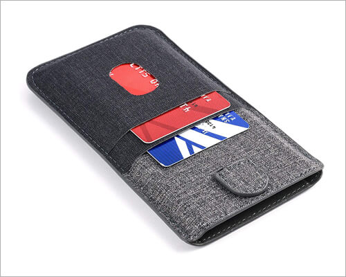 Dockem Luxe Wallet Sleeve for iPhone 11 Pro Max