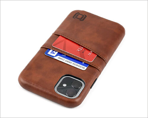Dockem Magnetic Mounting Wallet Case for iPhone 11