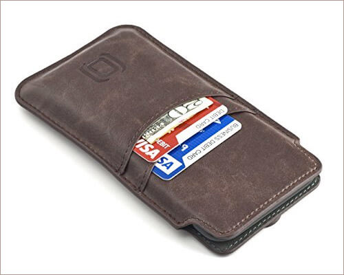 Dockem Provincial Leather Sleeve for iPhone Xs
