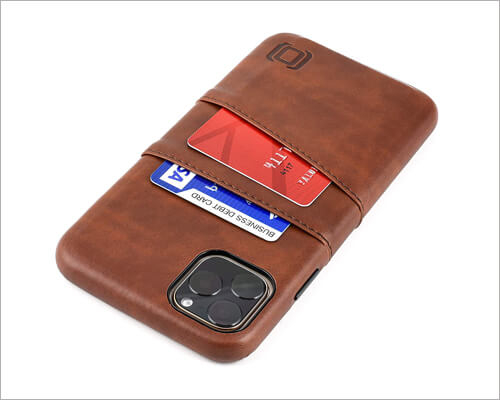 Dockem iPhone 11 Pro Max Synthetic Leather Wallet Holder Case