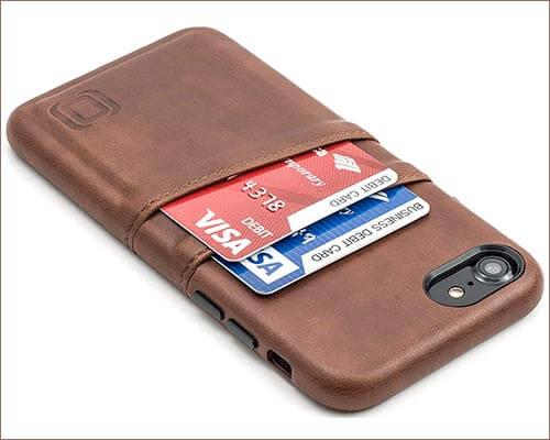 Dockem iPhone 8 Leather Case
