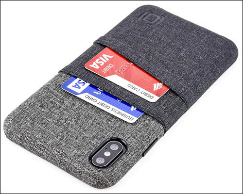 Dockem iPhone Xs Max Card Holder Wallet Case