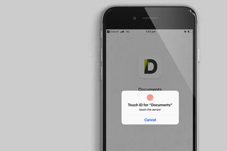 Documents by Readdle App Support Touch ID and Face ID